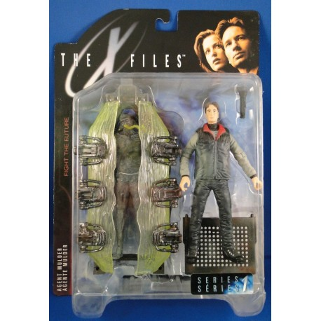 Agent Mulder w/ Cryopod Chamber MOC - McFarlane Toys Sci Fiction horror
