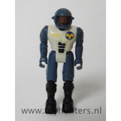 Lt. Bob T. Rodgers, no screen - Mattel 1986 Coleco