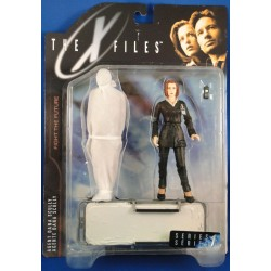Agent Dana Scully w/ brancard MOC - McFarlane Toys Sci Fiction horror