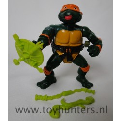 Rock N Roll Michelangelo - Wacky Action TMNT 1989 - 100% Complete