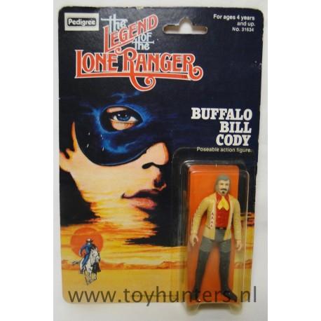 Buffalo Bill Cody MOC - Pedigree 1980 - Lone Ranger