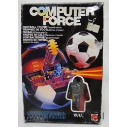Football Trophy MIB assault vehicle - Computer Force - Mattel 1989