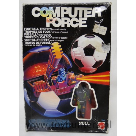 Football Trophy MIB assault vehicle - Computer Force - Mattel 1989