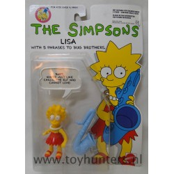 Lisa Simpson MOC - Mattel 1990 - The Simpsons