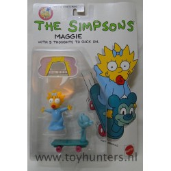 Maggie Simpson MOC - Mattel 1990 - The Simpsons