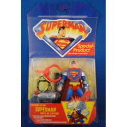 Superman w/Capture Claw MOC - Superman from The Animated Show MOC