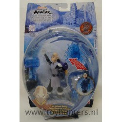 Ice Attack Aang MOC - Avatar Water Series Mattel
