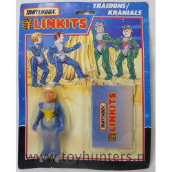 Traidons female Linkits - Matchbox 1986 Kranials