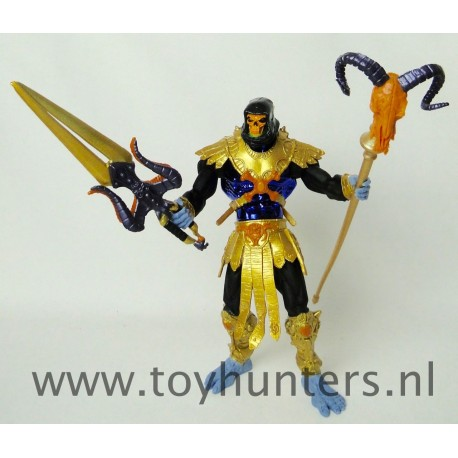 Skeletor GOLD Armor REPAINT - He-man 200X