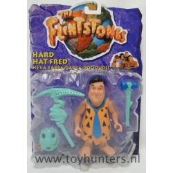 Hard Hat Fred MOC - The Flintstones Movie - Mattel 1993