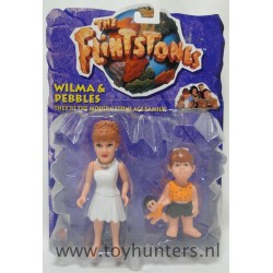 Wilma and Pebbles MOC - The Flintstones Movie - Mattel 1993