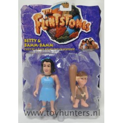 Betty and Bamm-Bamm MOC - The Flintstones Movie - Mattel 1993