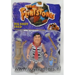 Big Shot Fred Flintstone MOC  - The Flintstones Movie - Mattel 1993