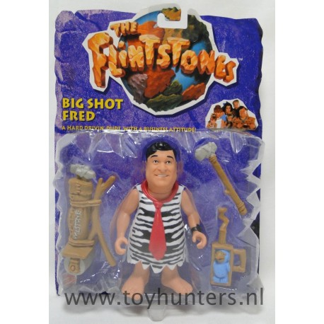 Big Shot Fred Flintstone MOC - The Flintstones Movie - Mattel 1993