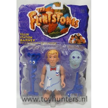 Fillin Station Barney MOC - The Flintstones Movie - Mattel 1993