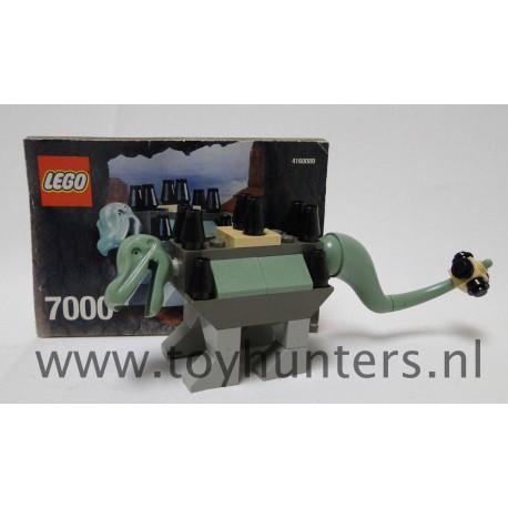 7000 Ankylosaurus loose complete - Dinosaurs LEGO