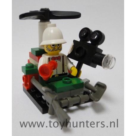 5904 Microcopter loose complete - Adventurers: Dino Island LEGO