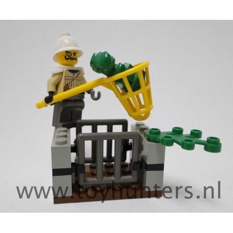 5914 Baby T-Rex Trap loose complete - Adventurers: Dino Island LEGO