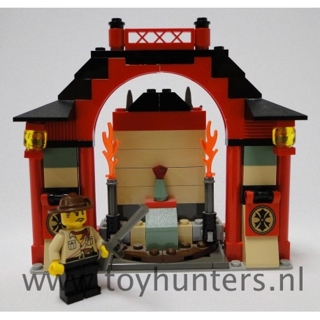 7413 Passage of Jun-Chi loose complete - Orient Expedition LEGO
