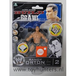 Randy Orton MOC - Deluxe Build n Brawl