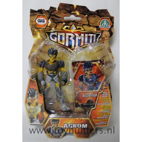 Agrom with 3D card MOC - 10CM Action Figure Gormiti