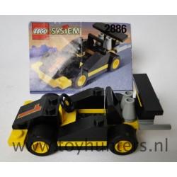 Formula 1 Racing Car - Classic Town RACE - LEGO 2886