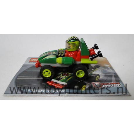 Flash Turbo - Drome Racers - LEGO 4590