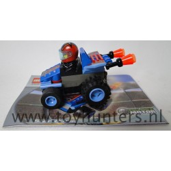 Star Strike Burst - Drome Racers - LEGO 4591