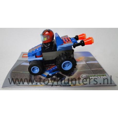 Star Strike Burst - Drome Racers - LEGO 4591
