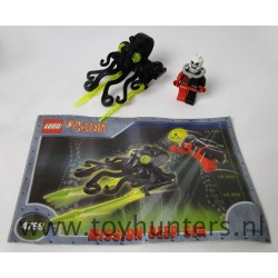 Ogel Drone Octopus - Alpha Team Mission Deep Sea - LEGO 4799 as is
