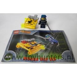 Jet Sub - Alpha Team Mission Deep Sea - LEGO 4800 as is