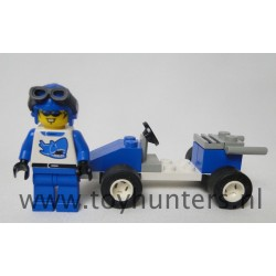 Blue Racer - Town RACE - LEGO 6618