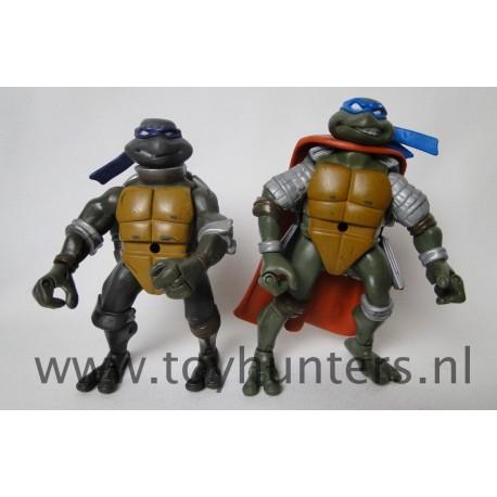 Ninja Knight Donatello and Leonardo 2004