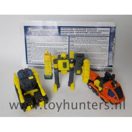 Destruction Team - Buzzsaw Dualor Drill Bit Mini-Cons