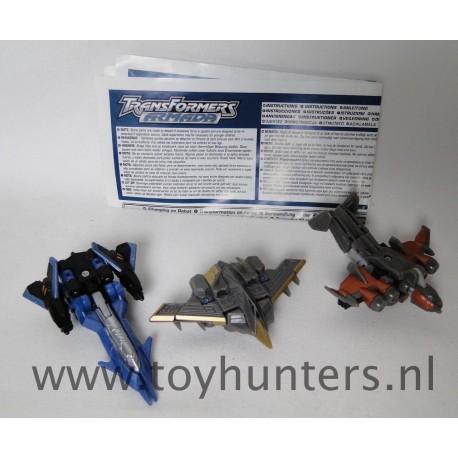 Air Military Team - Gunbarrel Thunderwing Terradive Mini-Cons