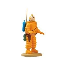 Tintin Cosmonaute - 12cm