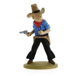 Tintin Cow-boy 11cm