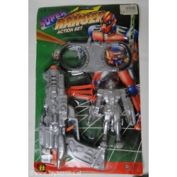 bootleg Judge Dread - Super Ranger cop MOC - Fake
