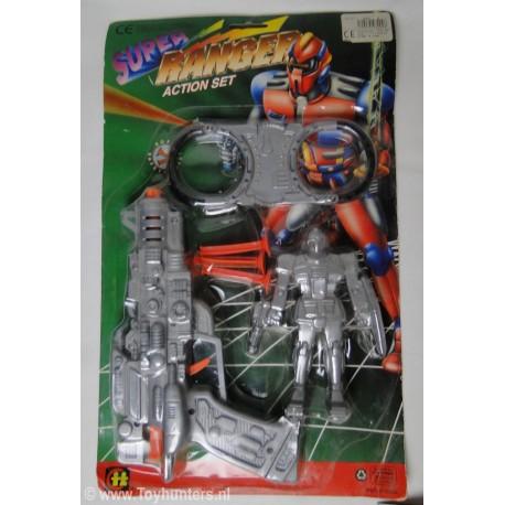 bootleg Judge Dread - Super Ranger cop MOC - Fake
