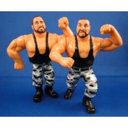 The Bushwackers - Luke and Butch - Tag Team WWF Hasbro 1991