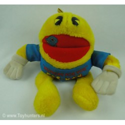 Pac Man, Hungry for You - Knickerbocker 80s beanie plush
