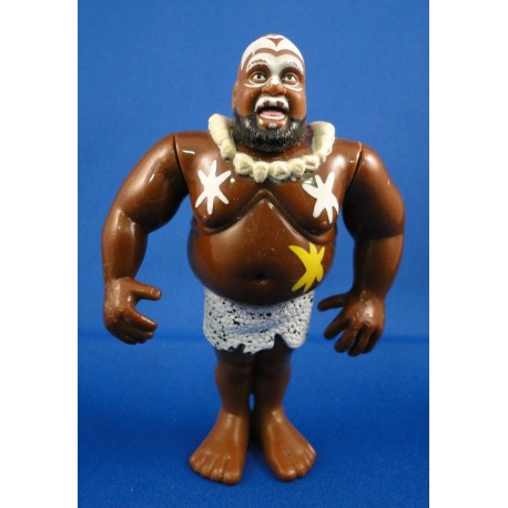 Kamala - Yellow Cards - Series 7 WWF Hasbro 1993