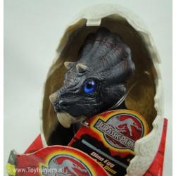 Baby Triceratops Dino Egg MIP Jurassic Park 3 III 2001 Hasbro