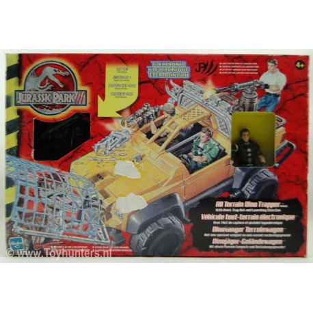 All Terrain Dino Trapper MIB Jurassic Park 3 III 2001 Hasbro