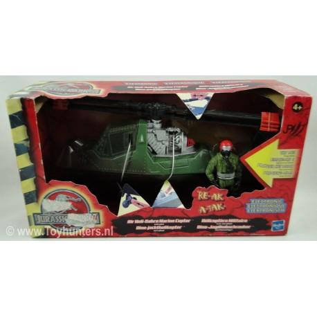 Air Heli-Sabre Marine Copter MIB Jurassic Park 3 III 2001 Hasbro