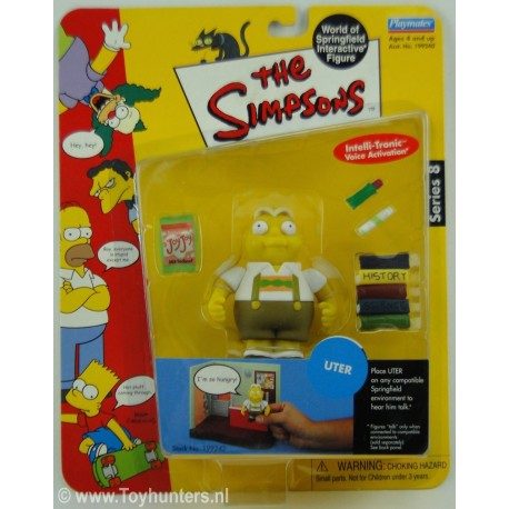 Uter - Playmates - The Simpsons Springfield Toys Bart Marge