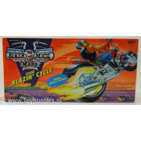Blazen Cycle MIB - Biker Mice from Mars - Galoob 1993