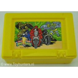 Power Ranger Lunchbox Yellow no 1 - Bluebird 1994 Saban