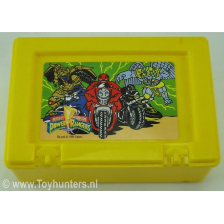 Power Rangers Lunchbox Yellow no 1 - Bluebird 1994 Saban