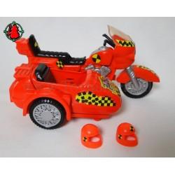 Red Crash 'N Dash Chopper - Tyco 1992